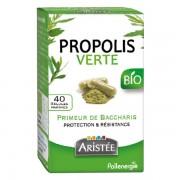 Pilulier propolis verte - bio boite de 40 gelules aristée